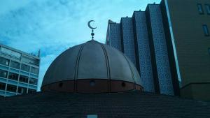 Cupola of the East London Mosque (photo: Joanna Impey)