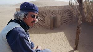 Tunisian film-maker Nacer Khemir (photo: Christina Omlin)