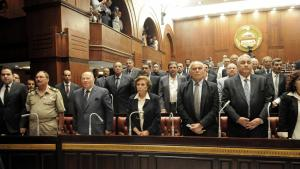 The committee designated to revise the constitution that was put into effect by Mohammed Morsi (photo: picture alliance/landov)