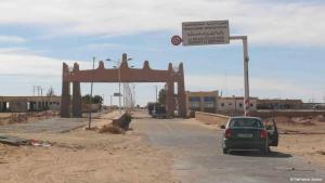 The border juncture between Libya and Algeria (© DW/Valerie Stocker)