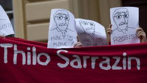 Anti-Sarrazin demonstration in Potsdam in September 2010 (photo: imago/Christian Thiel)