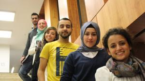 Muslim students (photo: Vincenzo Ferrera)