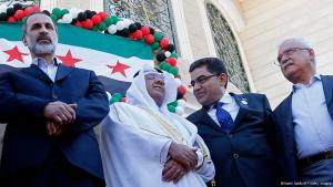 Members of the Syrian opposition (photo: Getty Images)