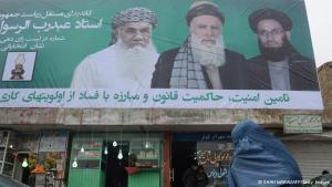 An election poster in Afghanistan (photo: Shah Marai/AFP/Getty Images)
