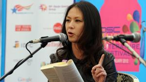 Amy Chua (photo: Prakash Singh/AFP/Getty Images)
