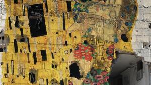 "Tammam Azzam's ""Freedom Graffiti"" (photo: The Ayyam Gallery)"