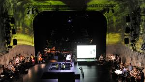 "Performance of Marc Sinan's ""Dede Korkut"" (photo: Thomas Aurin)"