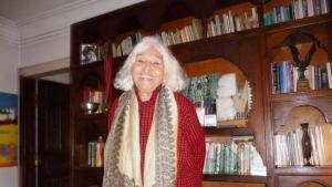 The Egyptian writer and feminist Nawal El Saadawi (photo: Arian Fariborz)