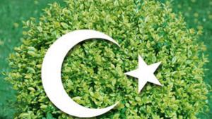 Image symbolising Islam and environmental protection (photo: picture-alliance/dpa/DW Montage)