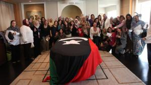 Karama co-ordination meeting in Cairo on 7 October 2011 on the occasion of the establishment of the Libyan Women's Platform for Peace (photo: Dominique Margot)