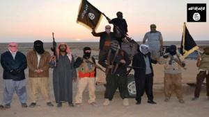 Members of an ISIS unit in Nineveh (photo: AFP)