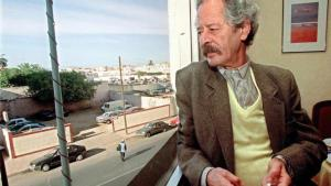 Mohamed Choukri in Casablanca on 5 November 2000 (photo: picture-alliance/dpa)