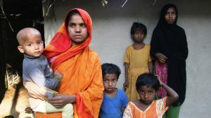 Rohingya refugees from Myanmar. Photo: DW/Shaikh Azizur Rahman