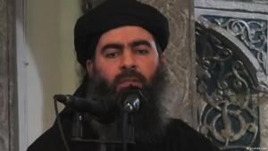 """The self-styled """"caliph"""", Abu Bakr al-Baghdadi. Photo: YouTube"""