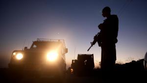 Israeli soldiers near Hebron. Photo: picture alliance/AP
