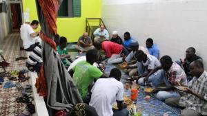 """Breaking the fast in Brazil's """"Islamic heartland"""", Recife. Photo: Ekrem Güzeldere"""