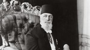 Portrait of the last Ottoman Caliph, Abdulmecid II. Photo: Library of Congress