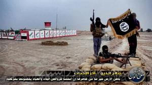 Still from an ISIS propaganda video (photo: picture-alliance/abaca)