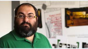 Yehuda Shaul, co-founder of the Israeli NGO Breaking the Silence (photo: Quique Kierszenbaum)