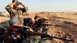 Peshmerga fighters in Iraq (photo: Reuters)