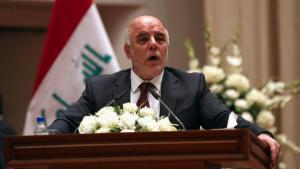Iraq's new prime minister, Haider al-Abadi, after being sworn into office in Baghdad (photo: Reuters/Hadi Mizban)