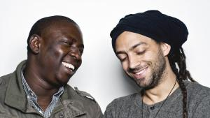Vieux Farka Touré and Idan Raichel (photo: Jason Marck)