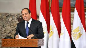 Before being elected president earlier this year, Abdul Fattah al-Sisi was head of Egypt's armed forces. He resigned from this post at the end of March in order to run for president. His resignation came nine months after the ousting of President Mohammed Morsi, the country's first democratically elected president, who had made Sisi commander-in-chief of the armed forces.