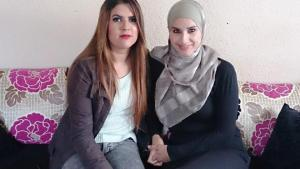 Daughter and mother: Nadia and Rabia Bechari (photo: Canan Topcu)