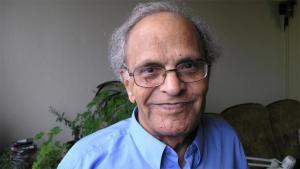 Fadhil al-Azzawi (photo: Lewis Gropp/DW)