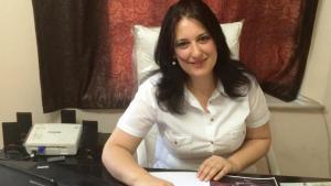 """Yasmine Merei, editor-in-chief of the women's magazine """"Saiedet Souria"""" (photo: Yasmine Merei)"""