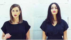 Rihan (left) and Faia Younan (photo: YouTube)