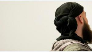 A Muslim man pictured from behind (picture-alliance/dpa)