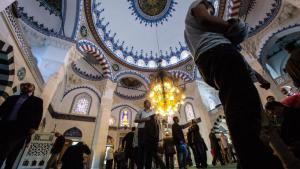 The Sehitlik Mosque in Berlin-Neukölln (photo: picture-alliance/dpa/Paul Zinken)
