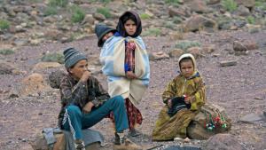 Children in Souss-Massa-Daraa, Djebel Sarhro, Antiatlas (photo: picture-alliance/blickwinkel/H.J. Igelmund)