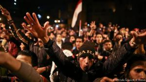 Protests against the acquittal of Hosni Mubarak on Tahrir Square in Cairo (photo: AFP/Getty Images)