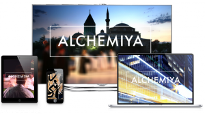 Alchemiya logo with the media on which the channel is available (source: Alchemiya)