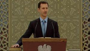 Bashar al-Assad (photo: Reuters/Syria TV)