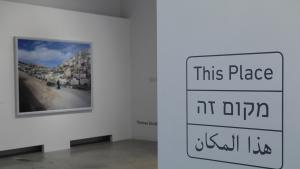 """View of the exhibition """"This Place"""" at the Dox Center for Contemporary Art in Prague (photo: Felix Koltermann)"""