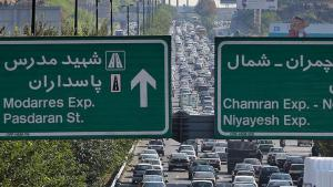 Tailback in Tehran (photo: MEHR)