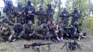 Islamist rebels in a forest in Dagestan (photo: REUTERS)