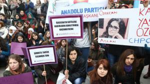 Protests in Ankara following the murder of Ozgecan Aslan (photo: Adem Altan/AFP/Getty Images)