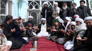 Afghan Sufis at prayer (photo: picture-alliance/AP Photo/Masso)