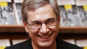 "Orhan Pamuk at the launch of his book ""A strangeness in my mind"" (photo: picture-alliance/AA)"