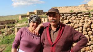 Yusuf and Xezal Erdem in Taqa (photo: Ekrem Guzeldere)