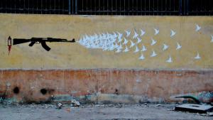 """Image from the book """"Walls of Freedom"""" by Basma Hamdy and Don Karl (copyright: El-Zeft)"""