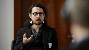 Adham Hafez (photo: Max Lautenschlager)