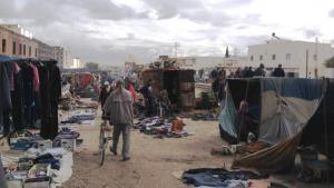 Market in Kasserine (photo: Beat Stauffer)