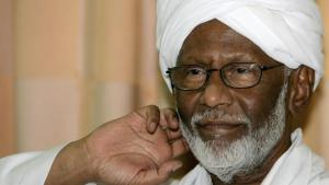 Hassan al-Turabi (photo: AFP/Getty Images/A. Shazly)
