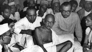 Mahatma Gandhi (photo: dpa)