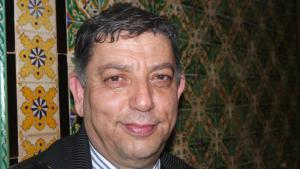 Alaya Allani, professor of contemporary history at the Manouba University in Tunis (photo: Beat Stauffer)